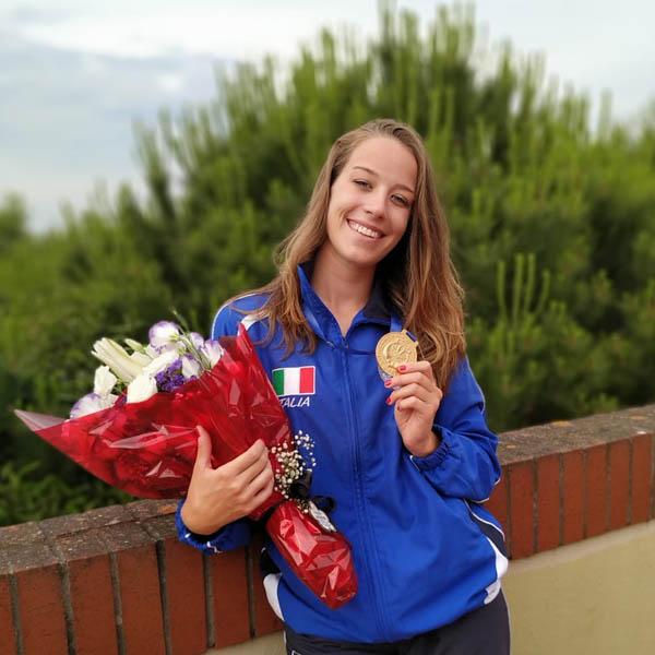 Campionati di Apnea Indoor: Erica Barbon