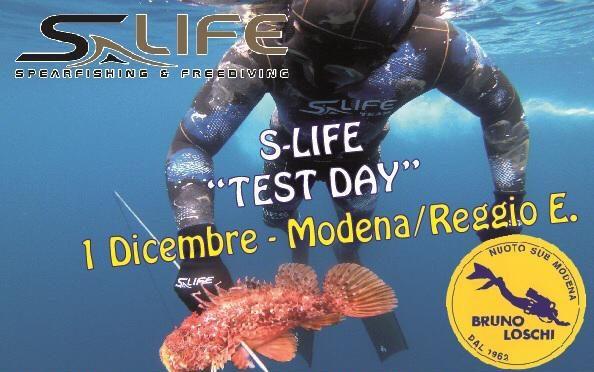 """Domenica 1 Dicembre – S-Life """"Test Day"""""""